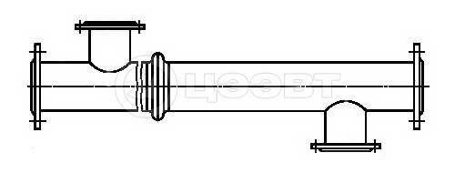 Схема 4. Блок-секция типа ПВ1К (с компенсатором).