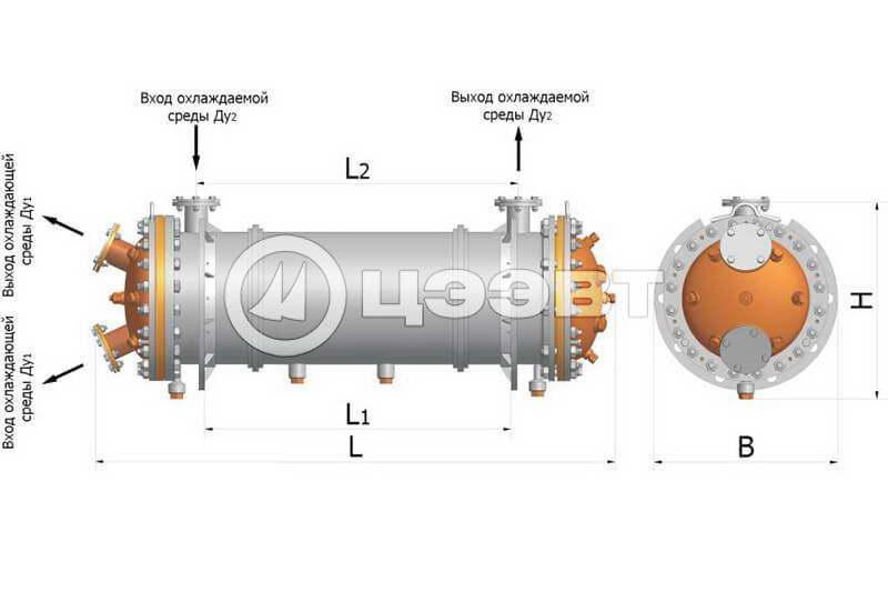 Охладители воды и масла двигателей. Рис. 3