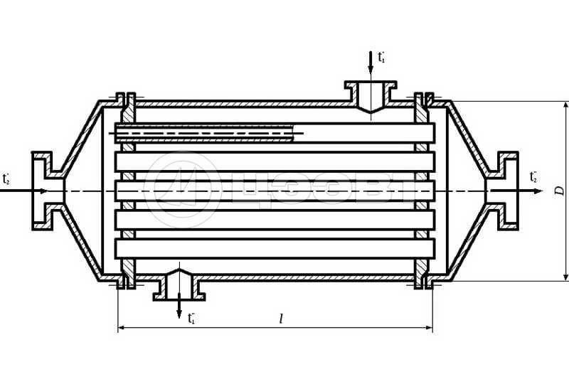 Рекуперативный теплообменник. Рис. 3