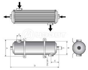 Принцип работы водо-водяного теплообменника