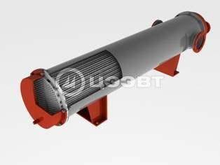 3D-модель кожухотрубного теплообменного аппарата типа ВВПИ