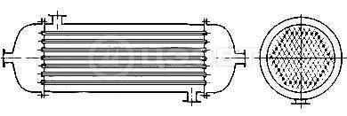 Типы кожухотрубных теплообменников. Схема 6