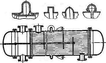 Типы кожухотрубных теплообменников. Схема 3