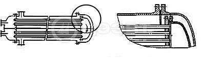 Типы кожухотрубных теплообменников. Схема 2
