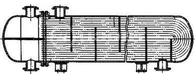 Типы кожухотрубных теплообменников. Схема 5