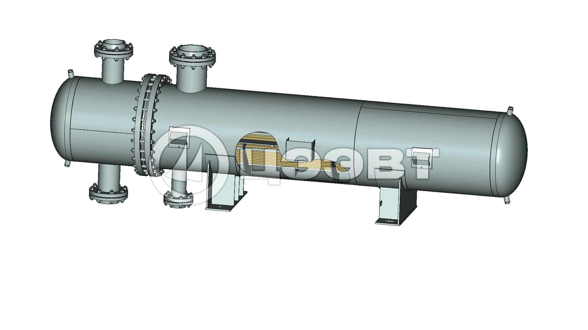 Кожухотрубные теплообменники характеристики Подогреватель сетевой воды ПСВ 200У Хасавюрт