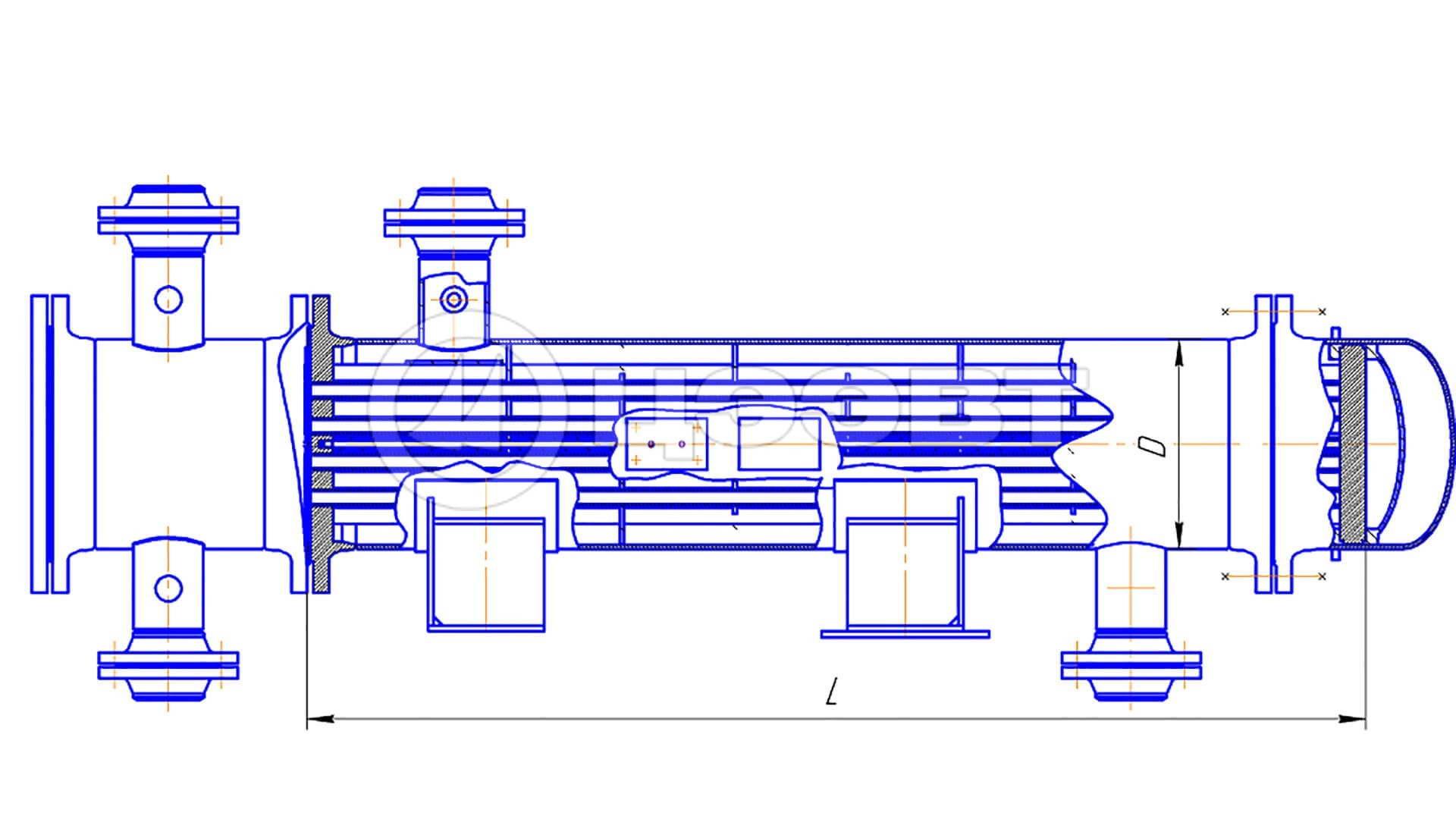 Ремонт теплообменники с плавающей головкой Кожухотрубный испаритель ONDA SSE 71.401.3200 Озёрск